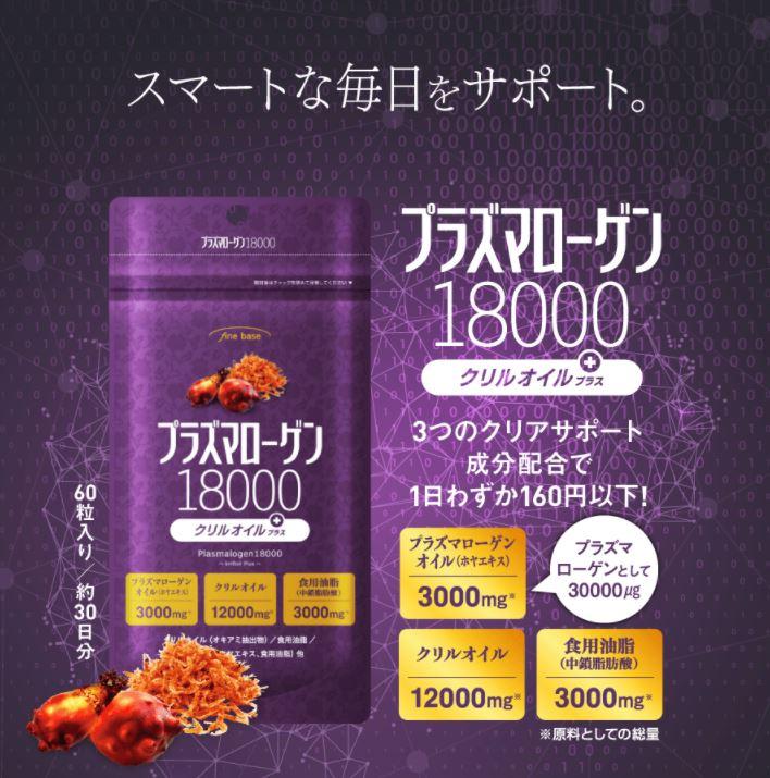 プラズマローゲン18000 効果と副作用